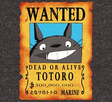 Wanted Totoro Unisex T-Shirt