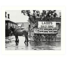 Ladd's Drinks Art Print