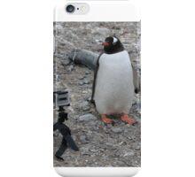 Gentoo penguin selfie in Antarctica  iPhone Case/Skin