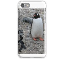 Gentoo penguin selfie in Antarctica  iPhone Case/Skin