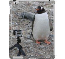 Gentoo penguin selfie in Antarctica  iPad Case/Skin