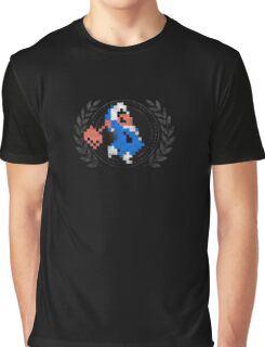 Ice Climber - Sprite Badge 2 Graphic T-Shirt