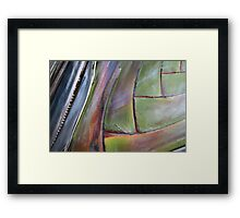 Palm layers - 2011 Framed Print