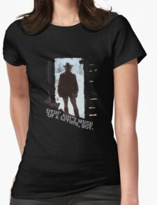 The Outlaw Josey Wales Womens Fitted T-Shirt