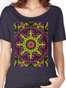 Greenpsy Women's Relaxed Fit T-Shirt