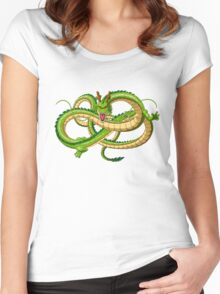 0 shenlong Women's Fitted Scoop T-Shirt