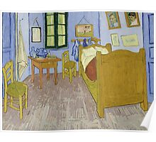 Vincent van Gogh - Bedroom in Arles Poster