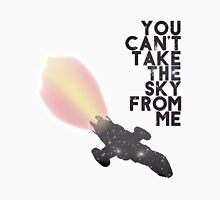 You Can't Take the Sky From Me - Serenity and the Stars (Transparent Version) T-Shirt