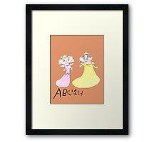 Princesses - ABC '14  Framed Print