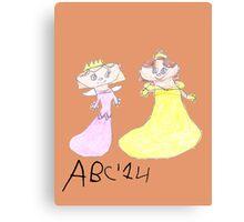 Princesses - ABC '14  Canvas Print