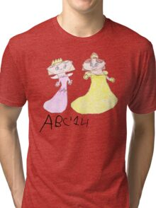 Princesses - ABC '14  Tri-blend T-Shirt