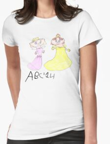 Princesses - ABC '14  Womens Fitted T-Shirt