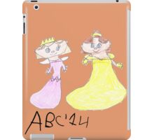 Princesses - ABC '14  iPad Case/Skin