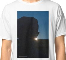 Nikola Tesla Statue Detail During Sunrise | Niagara Falls, New York  Classic T-Shirt