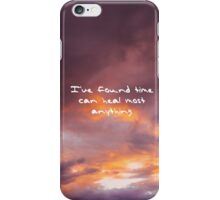fifteen taylor swift handwriting iPhone Case/Skin