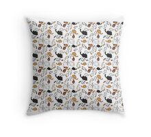 Neko Atsume Kitties Throw Pillow