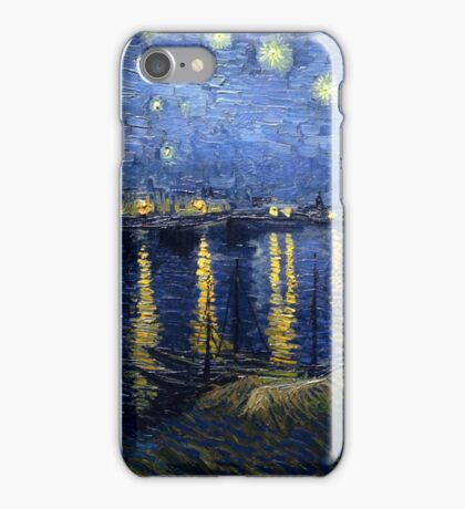 Vincent van Gogh - Starry Night Over the Rhone iPhone Case/Skin