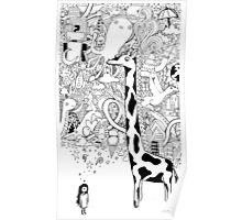 giraffe dream Poster