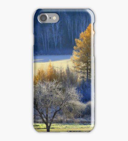 Landscape in Quebec  iPhone Case/Skin