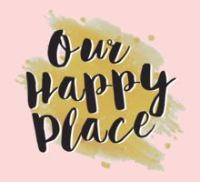 Our Happy Place One Piece - Long Sleeve