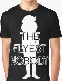 THE FLYEST NOBODY Silhouette 2 Graphic T-Shirt
