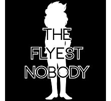 THE FLYEST NOBODY Silhouette 2 Photographic Print