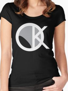 OKAYI GOTIT Logo 2 Women's Fitted Scoop T-Shirt