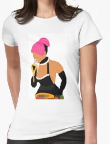 Nicki Minaj: Banana Eater Womens Fitted T-Shirt