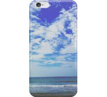 Sky Over Ocean (Dramatic Blue) iPhone Case/Skin