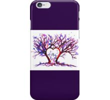 Trees - 'Love Grows' iPhone Case/Skin