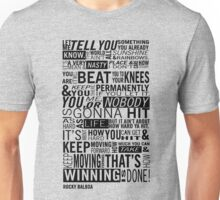 Rocky Quote Unisex T-Shirt