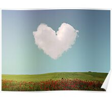 Heart Cloud Poster