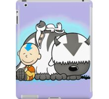 Aang And Appa Avatar iPad Case/Skin