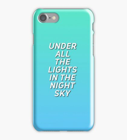 "5 Seconds Of Summer ""Lost In Reality"" Lyrics iPhone Case/Skin"