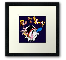Ren and Stimpy Framed Print