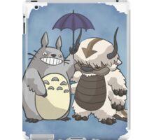 Totoro and Appa iPad Case/Skin