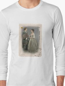 Outlander stamp/Outlander Wedding Long Sleeve T-Shirt