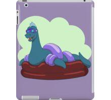 Crypt-kids: Baby Loch Ness (Blue) iPad Case/Skin