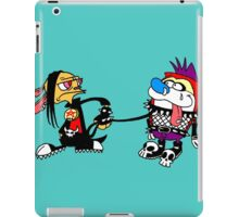 The Ren and Stimpy Rock iPad Case/Skin