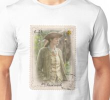 Outlander stamp/ Claire Fraser/The Sassenach Unisex T-Shirt
