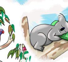 Koala dreams - Shhh… Creativity in progress Sticker