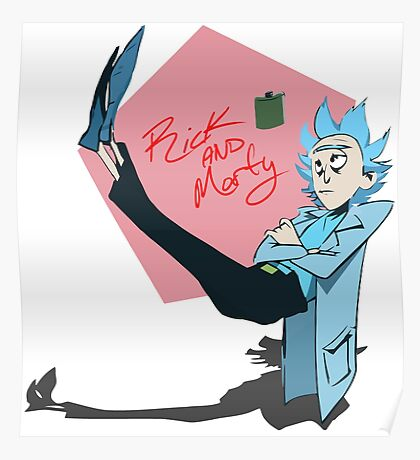 R MORTY Poster