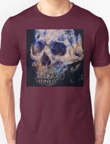 Ultraviolet Skull Unisex T-Shirt