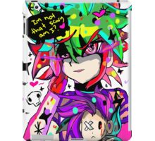 im not that scary  iPad Case/Skin