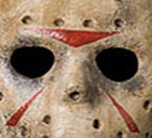 Coffin Squad Killers Hockey Mask Sticker