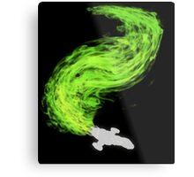 Firefly in Flight Metal Print