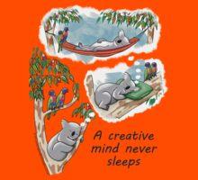 Koala dreams - A creative mind never sleeps by JumpingKangaroo
