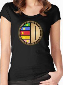 Gosei Sentai Dairanger Symbol Women's Fitted Scoop T-Shirt