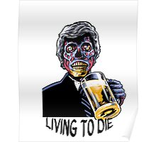 Coffin Squad Living To Die Poster