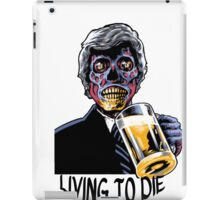 Coffin Squad Living To Die iPad Case/Skin
